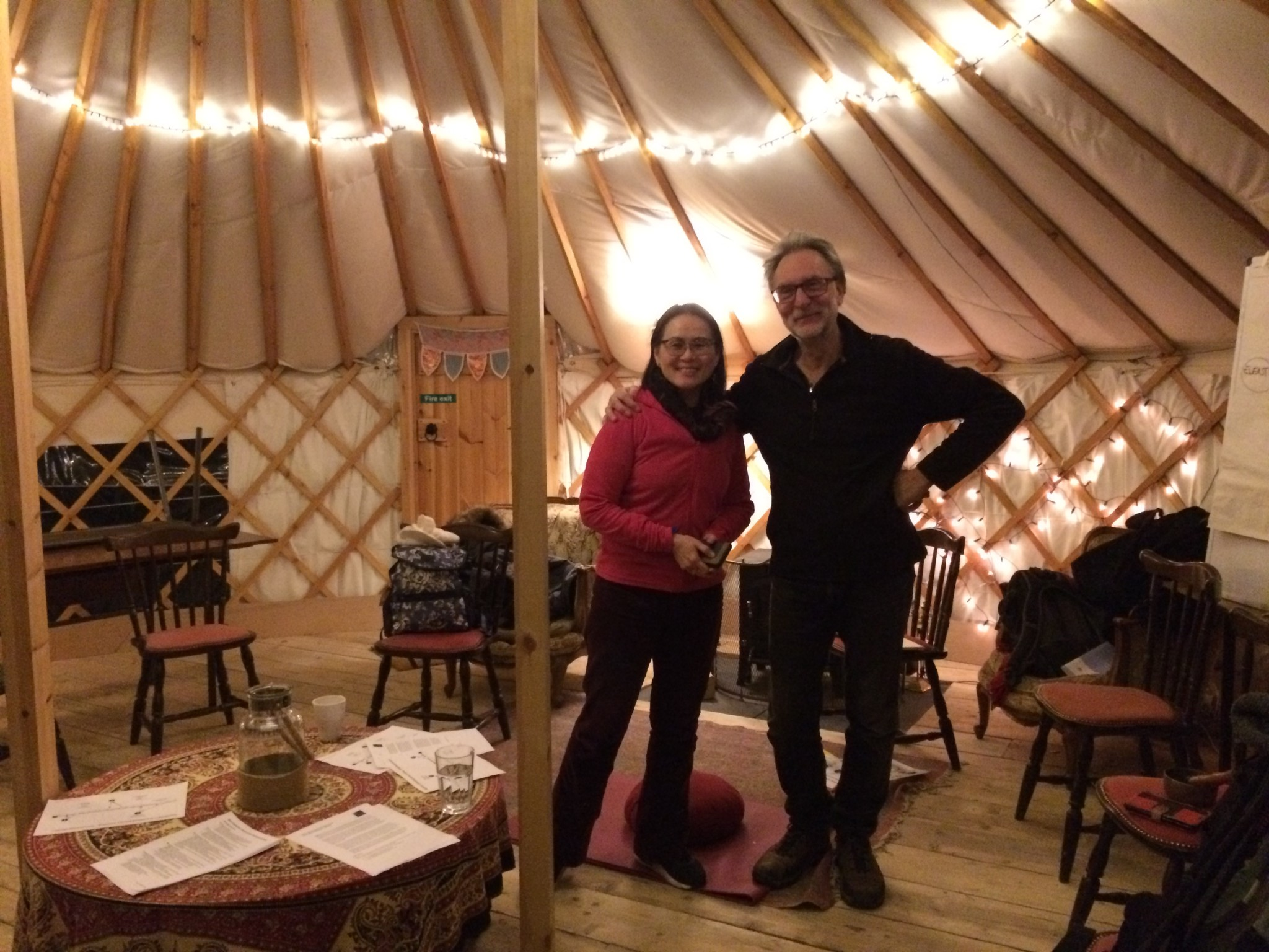 Queen Mary University Yurt